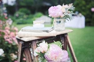 Un camaïeu de rose et de gris vintage