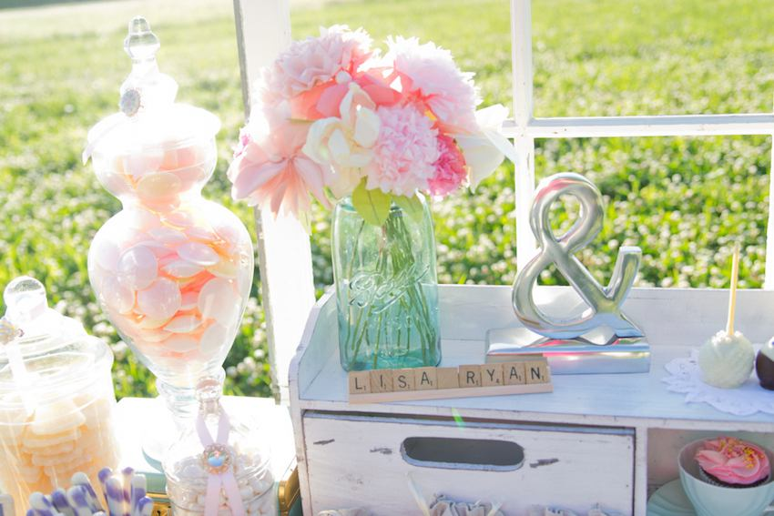 candy bar vintage chic