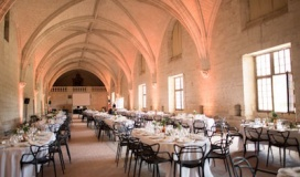 grand refectoire abbaye fontevraud_mariage