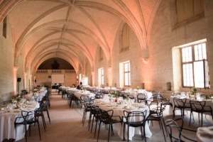 grand refectoire abbaye fontevraud_mariage