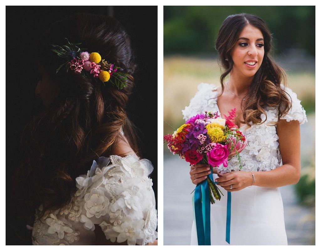 mariage couleurs vives