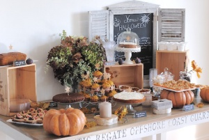 deco table halloween