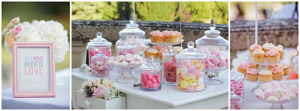 elegant candy bar