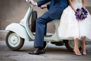 Pour une arrivée des mariés digne de ce jour