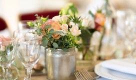 mariage champetre corail
