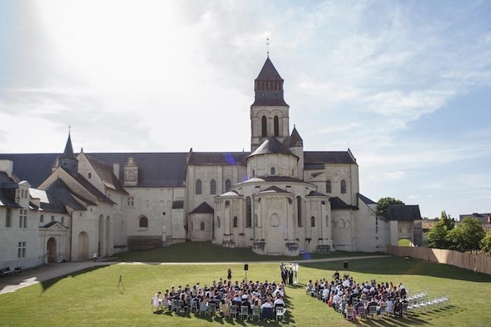 ceremonie abbaye de fontevraud