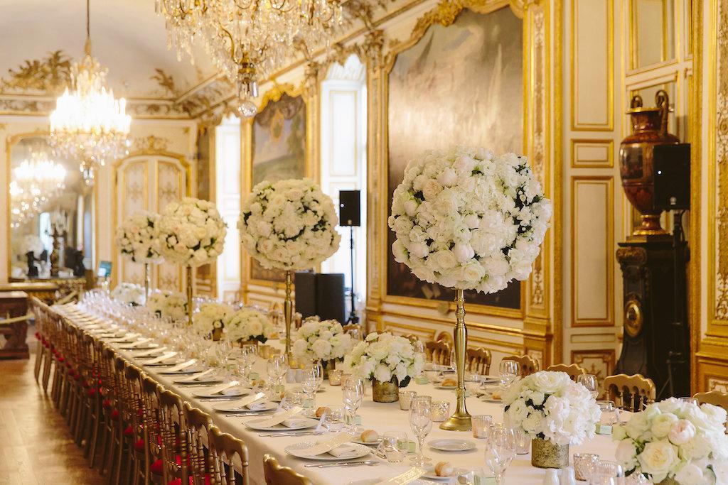 mariage blanc chateau