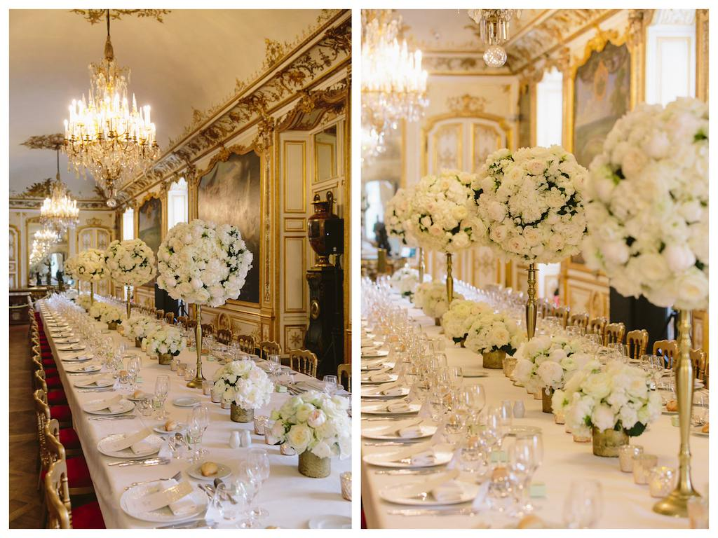 eception de mariage_chateau chantilly