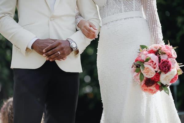 bouquet mariee ceremonie