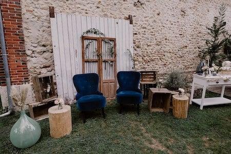 photo-booth bleu