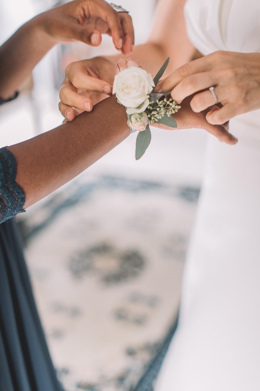 bracelet fleurs temoins