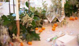 mariage végétal et orange